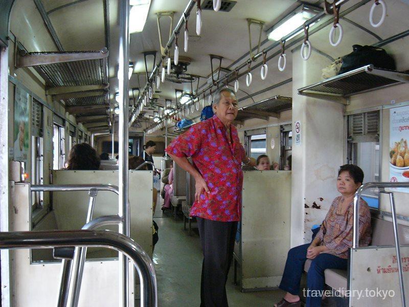 タイ  アユタヤ遺跡に鉄道で行ってきた 【タイ】