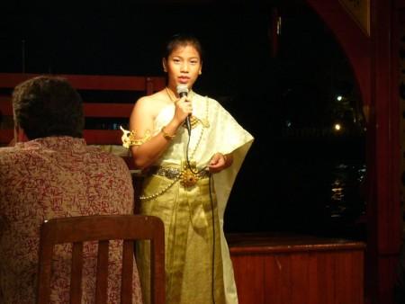 タイ  バンコクのディナークルーズ船 「ウェンファー(WANFAH)」 【タイ】