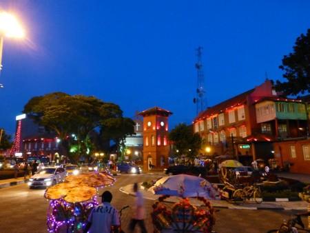 マレーシア  世界遺産の街 コロニアルタウン「マラッカ」 【マレーシア】