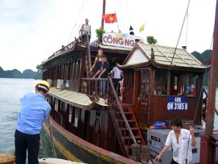 ベトナム  世界遺産 ハロン湾の素晴らしい景色 【ベトナム】