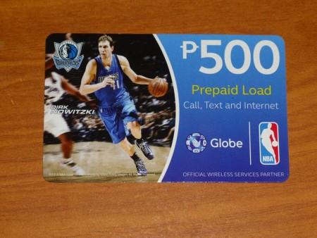 フィリピン  フィリピンでモバイルインターネット(Globe)