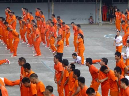 フィリピン  セブ刑務所(CPDRC)で月一回開催される囚人ダンス(後編)