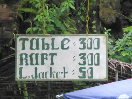 フィリピン  セブ最大の滝 カワサンフォールで癒される