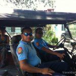 フィリピン  モアルボアル パナグサマビーチ散策_バイクでカワサンフォールへ