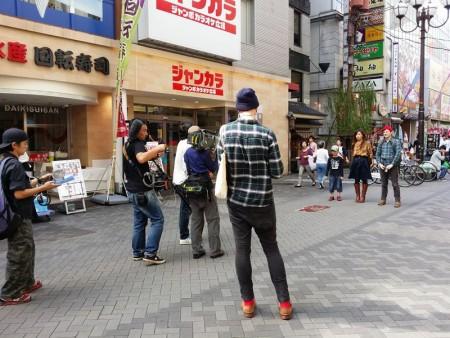 日本  大阪ブラブラ_道頓堀~なんばグランド花月方面へ さんまさんに遭遇?