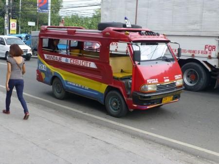 フィリピン  フィリピン名物 セブのジープニー(ジプニー)いろいろ