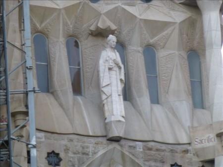 スペイン  世界遺産のサグラダファミリアに感動 【バルセロナ】