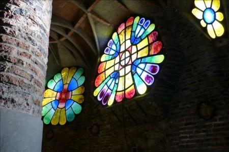 スペイン  コロニアグエル_教会とか 【バルセロナ】