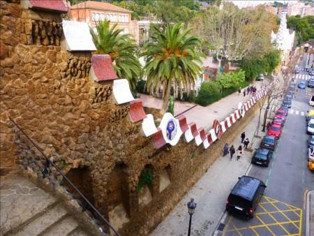 スペイン  グエル公園、カサ・ビセンスを見学_ガウディ建築 【バルセロナ】