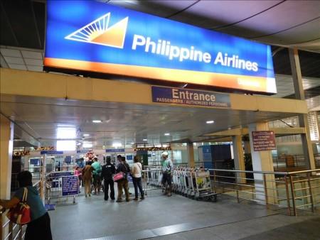 フィリピン  セブ島に到着_一人寂しく機内で年明け