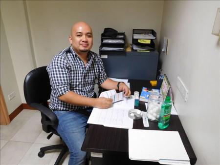 フィリピン  フィリピン セブ島で予防接種