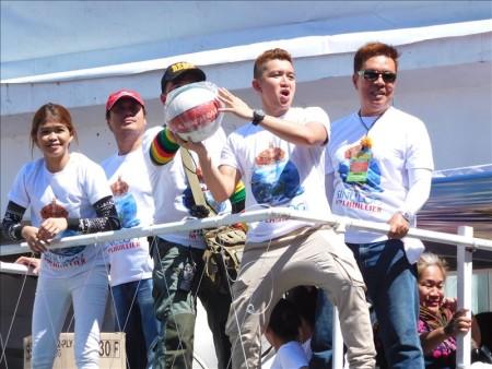 フィリピン  芸能人も参加するシヌログ(Sinulog)祭り 写真集_Vol.8 【セブ島】