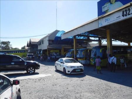 フィリピン  ドゥマゲテからバコロドへのバス移動_2016年1月