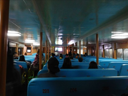 フィリピン  バコロドからセブ島への行き方 【バス移動】