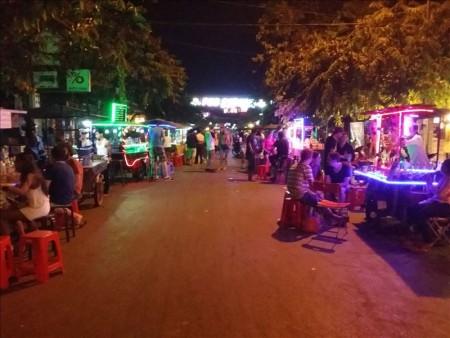 カンボジア  パブストリート散策 【シェムリアップ】