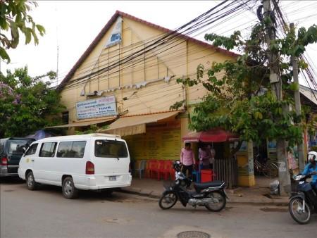 カンボジア  シェムリアップからプノンペンへのバス移動