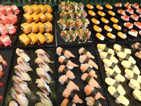 カンボジア  イオンモールにあるしゃぶしゃぶ&寿司の食べ放題 【プノンペン】