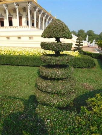 カンボジア  国王の住む王宮(The Royal Palace) _人気観光スポット 【プノンペン】