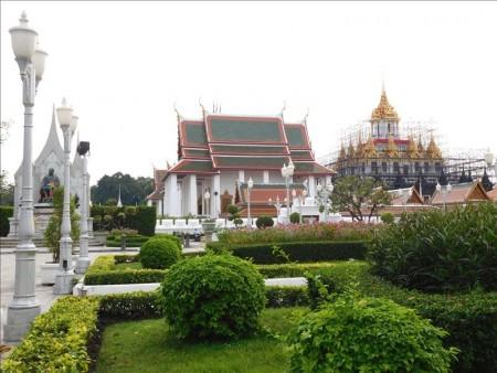 タイ  民主記念塔(Democracy Monument)周辺の屋台とか 【バンコク】