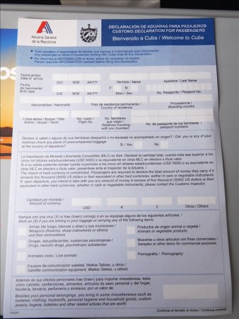 メキシコ  カンクンから最終目的地のハバナへ移動 【キューバ旅行】