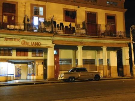 キューバ  夜になると一段と輝きを増すハバナの街並み 【キューバ旅行】