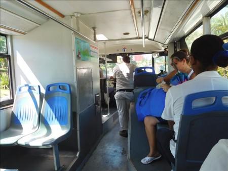 キューバ  2階建てのオープンバスでサンティアゴの市内観光 【キューバ旅行】