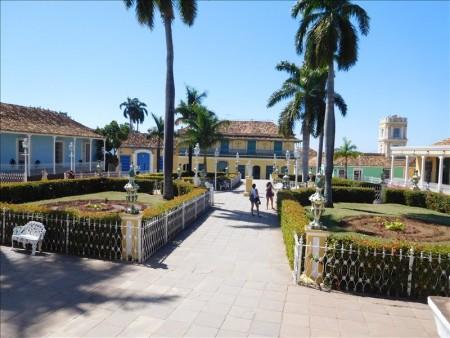 キューバ  世界遺産の街トリニダーでサンティシマ教会を見学 【キューバ旅行】