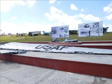 キューバ  こんな所にロケットや飛行機が展示 【キューバ旅行】