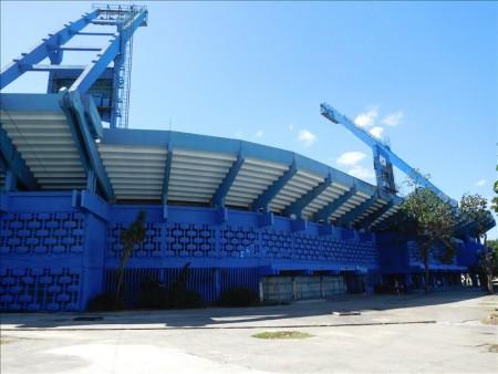 キューバ  工事中だったラティーノアメリカーノ球場 【キューバ旅行】