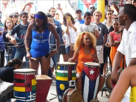 キューバ  カジェホン・デ・ハメルでのルンバイベント 【キューバ旅行】