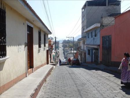 グアテマラ  ケツァルテナンゴ(シェラ)の街をブラブラ散策