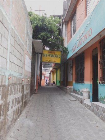 グアテマラ  シェラからサン・ペドロ・ラ・ラグーナへチキンバスで移動