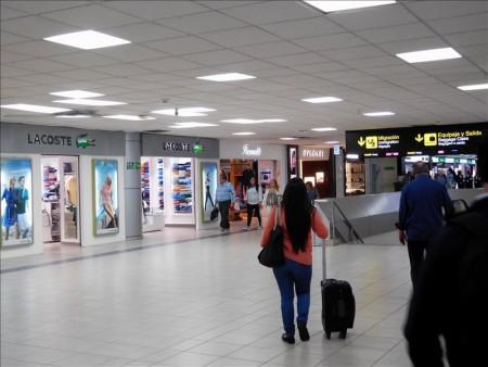 グアテマラ  グアテマラシティからパナマを経由してコロンビアのボゴタへ移動