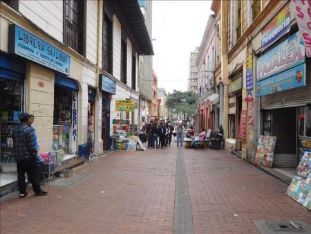 コロンビア  ボゴタの市内をブラブラと散策 【ボゴタ】
