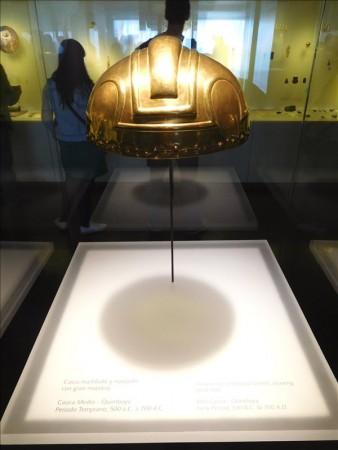 コロンビア  ピカピカの黄金博物館 【ボゴタ】