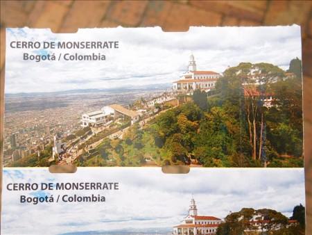 コロンビア  ロープウェイに乗ってモンセラーテ(モンセラッテ)の丘へ 【ボゴタ】
