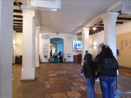 コロンビア  こんな豪華な国立博物館が無料で!! 【ボゴタ】