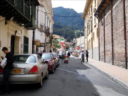 コロンビア  ボリバル広場周辺を散策 【ボゴタ】