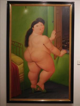 コロンビア  ボテロにかかれば有名なモナリザもこんなに可愛く 【ボゴタ】