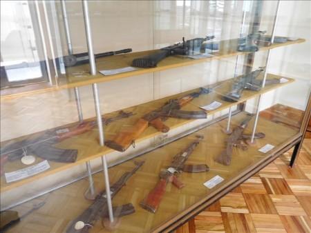 コロンビア  軍事博物館で見たさまざまな武器 【ボゴタ】