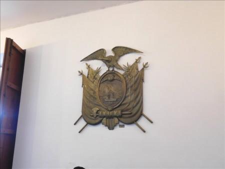 エクアドル  エクアドル 大統領府の内部を見学 【キト】