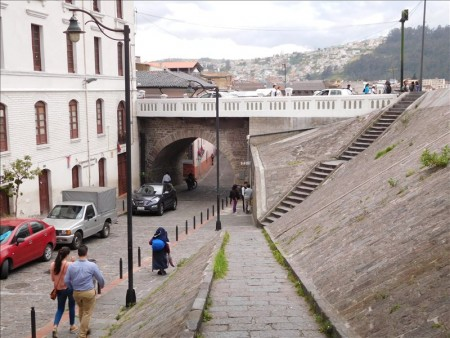 エクアドル  キトの旧市街をブラブラ散策