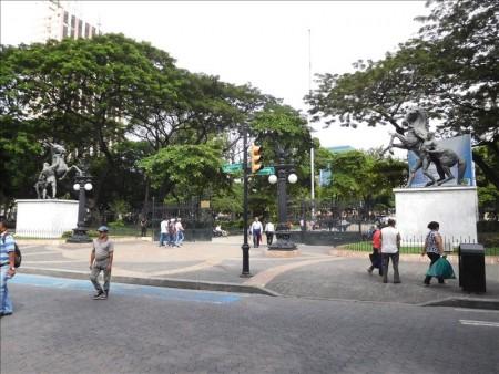 エクアドル  グアヤキルの街をブラブラと散策