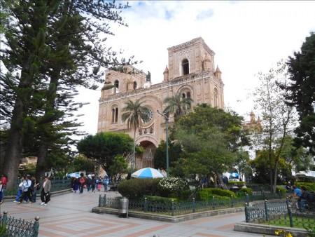 エクアドル  クエンカの新大聖堂に登ってきた 【エクアドル】