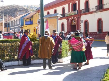 ペルー  標高3850m! 空気が薄くて大変だけど頑張ってプーノの街を散策