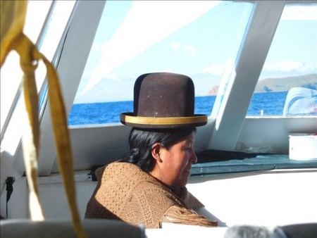 ボリビア  コパカバーナの太陽の島(Isla del Sol)を駆け足で見学