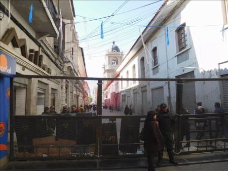 ボリビア  スクレ ⇒ ラパスへバス移動_ラパスの街をブラブラ散策