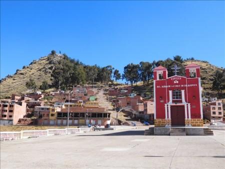 ボリビア  チチカカ湖を一望できる絶景スポット