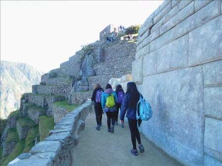 ペルー  念願の天空都市マチュピチュを見学