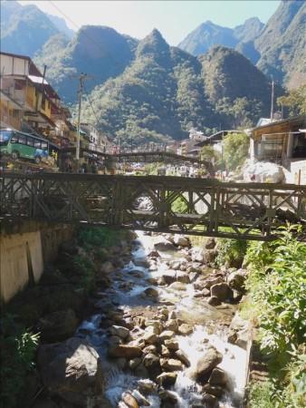 ペルー  マチュピチュ村でのいろいろ